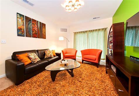 Orange And Brown Living Room Decor Gliforg