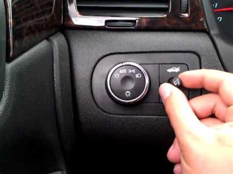 chevy impala lights dash dome youtube