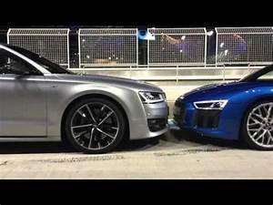 Audi S8 2017 : 2017 audi s8 plus 2017 audi r8 v10 plus youtube ~ Medecine-chirurgie-esthetiques.com Avis de Voitures