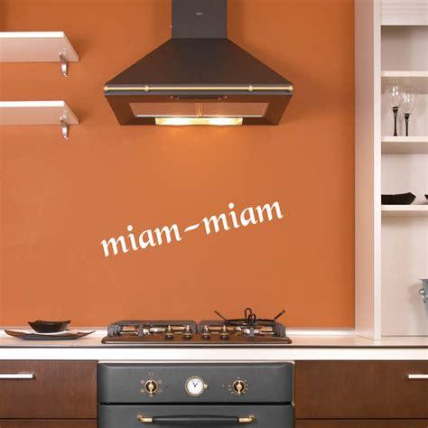 miam miam cuisine stickers déco cuisine miam miam deco cuisine destock