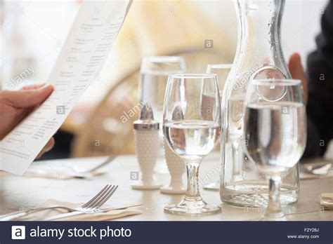wine glass placement on table close up of wine and water glasses and place settings at a