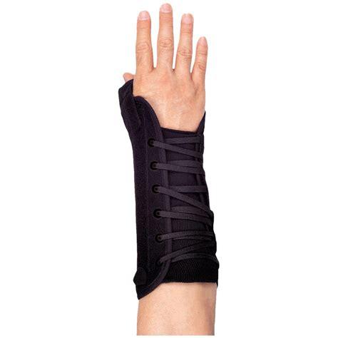 titan nylon long thumb lacing orthosis thumb and finger supports
