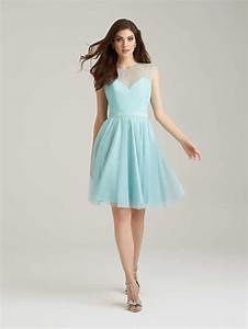 Romantic short light blue bridesmaid dresses wedwebtalks for Short blue wedding dress