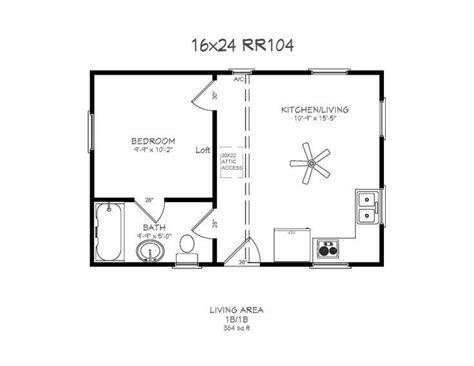 16x24 House Plans • Blumuh Design