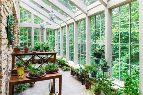 Greenhouse Sunroom by Country Traditional Sunroom Other By