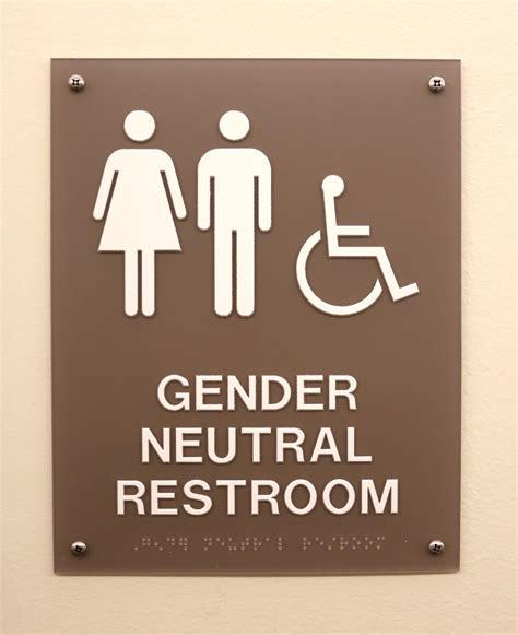 gender inclusive bathroom sign the concordian gender inclusive floor update