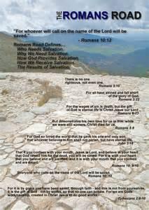 Bible Salvation Roman Road