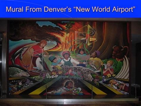 Denver International Airport Murals Removed by Denver International Airport Has Forked Rails For