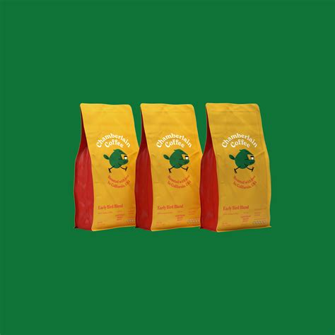 50 single serve bags in total. Early Bird Blend - Coffee Bag