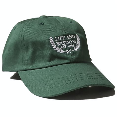 Ivy League Polo Cap (forest Green)  Life & Wisdom