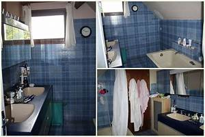 Relooking Salle De Bain Avant Apres : avant apr s moindre co t la salle de bain les ~ Zukunftsfamilie.com Idées de Décoration