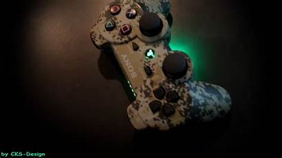 Ps3 Backgrounds Controller Toxic Playstation Gaming Custom