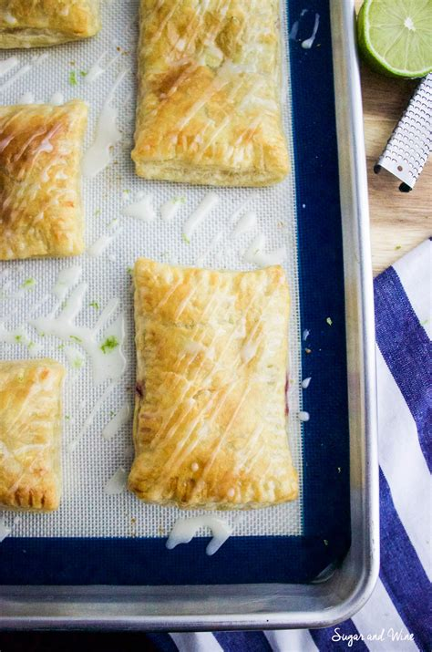 Toaster Strudel In The Oven - blackberry toaster strudel and wine