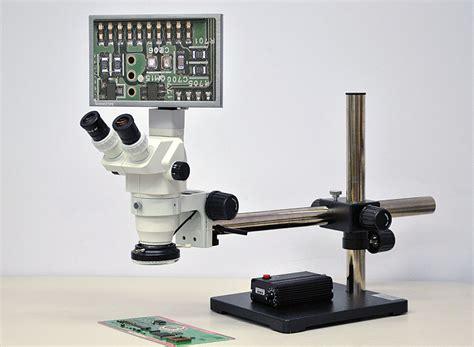 1080p Hd Camera Stereo Zoom Digital Microscope System