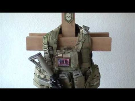 build  tactical gear stand youtube