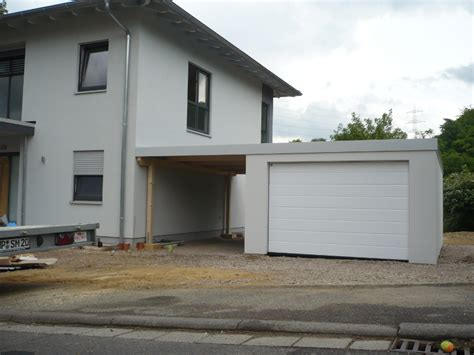 Danwood Haus Mit Garage by Garagen Carport Kombination Als Fertiggarage