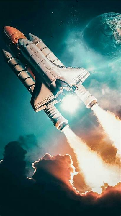 Space Shuttle Iphone Launch Discovery Wallpapers Rocket