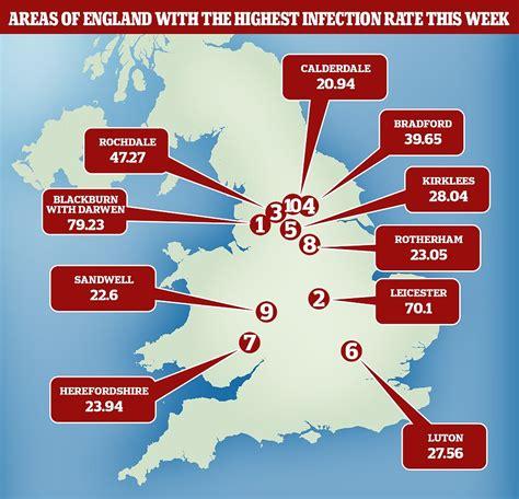 Are England's coronavirus cases are creeping up?
