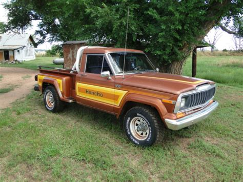 jeep honcho stepside 1981 jeep j10 honcho step truck short bed