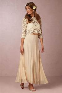 soft flowy bridal separates for the bohemian bride With wedding dress separates top