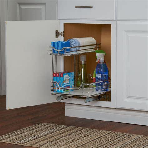 sink organizer  chrome  white liner