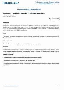 Company Financials: Verizon Communications Inc.