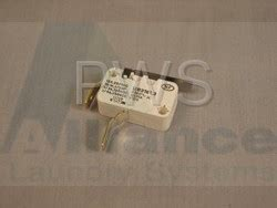 ipso 9001372 washer microswitch t2 light commercial ipso laundry parts
