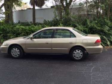 2002 Honda Accord Gold For Sale Craigslist