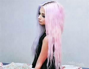 pastel pink hair on Tumblr