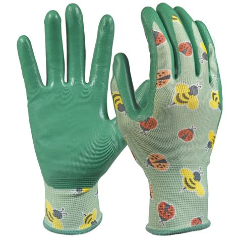 s gardening gloves nitrile coated garden gloves garden ftempo