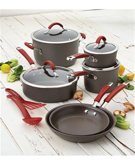 rachael ray cucina hard anodized nonstick  pc cookware set cookware cookware sets