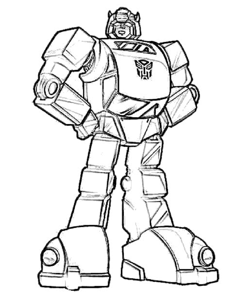 bumblebee transformer coloring pages coloring home