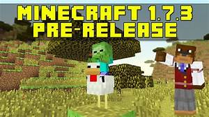 Minecraft 1.7.3 Pre-Release - Baby Zombies Riding Chickens ...