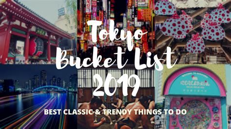 tokyo bucket list  top    japan travel