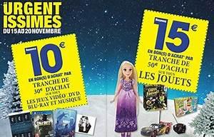 Promo Castorama 15 Par Tranche De 100 : carrefour jouets 15 offerts en bon d 39 achat par tranche ~ Dailycaller-alerts.com Idées de Décoration