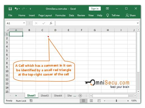 add comment   excel worksheet cell