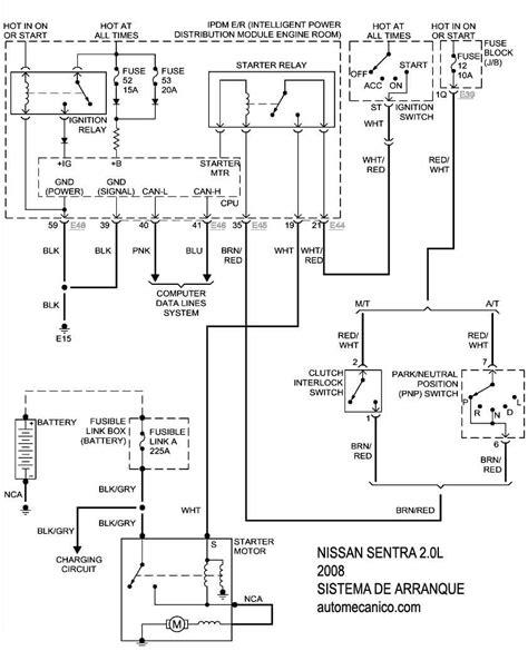 nissan sentra 2008 diagramas esquemas graphics vehiculos motores mecanica automotriz