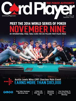 card player magazine news magazine
