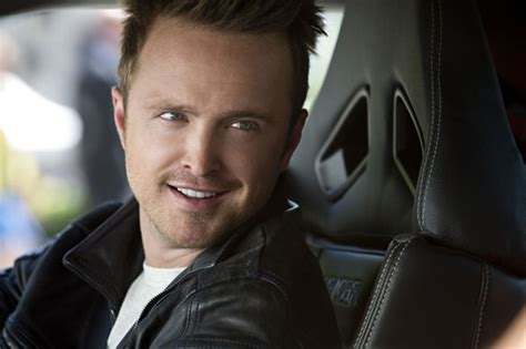 aaron paul in need for speed need for speed 2014 covering media
