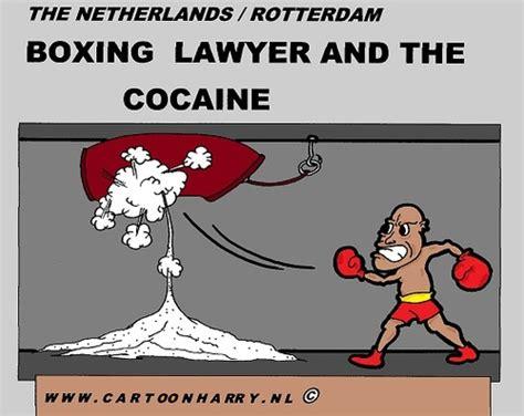 The Boxing Lawyer Van Cartoonharry