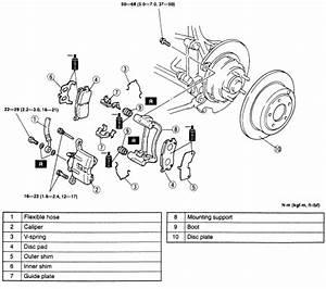Ford Rear Caliper Diagram  Ford  Auto Parts Catalog And Diagram