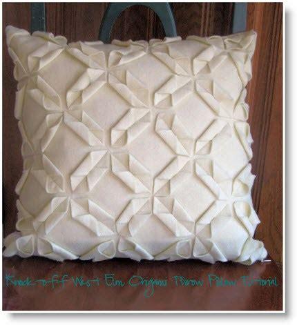 west elm throw pillows west elm origami throw pillow knock felting