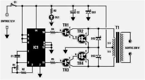 Converter Vdc Vac Inverter Circuit Diagram