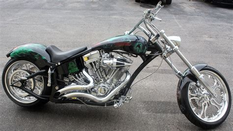 Mad Fox Choppers Custom Built Pro-street Motorcycles In
