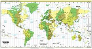 File World - Time Zones Map  2014  Svg