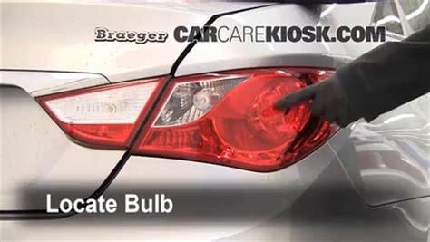 2011 hyundai sonata brake light bulb size brake light change 2011 2015 hyundai sonata 2011 hyundai