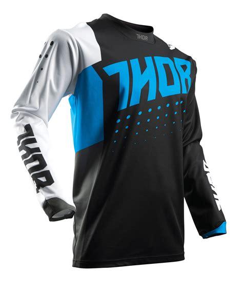 Thor Mx Motocross Men 39 S 2017 Pulse Aktiv Jersey Blue
