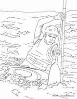 Kayak Coloring Canoe Pages Drawing Sports Canoes Easy Water Template Hellokids Printable Sketch Sheet Getcolorings Omalovanky Kayaks Sheets Print Getdrawings sketch template