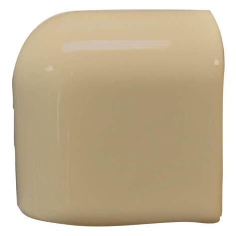 mud cap shop interceramic cocoa ceramic mud cap corner tile common 2 in x 2 in actual 2 in x 2 in