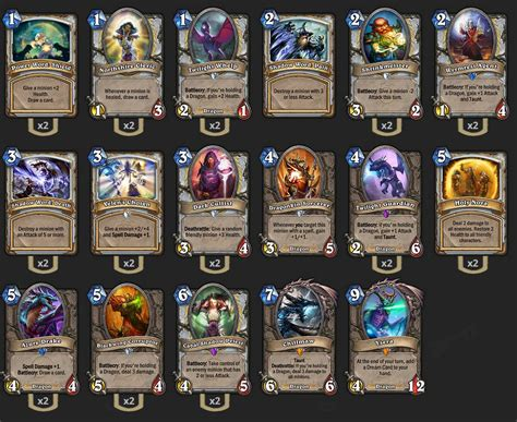 Priest Deck 2017 by Hearthstone Top 3 Decks Of Season 18 For Ladder Climbing